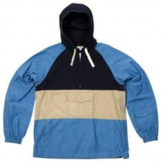 Engineered Garments Beach Popover Tricolour