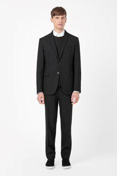 COS | Textured wool blazer