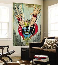 Comic book murals!