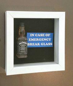 Jack Daniel's Whiskey - In Case of Emergency by DaisyChainOnline