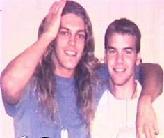 Best friends Adam Copeland (Edge) & Jason Reso (Christian) as teenagers