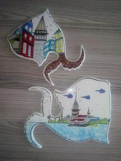 Balık Let's Have Fun, Traditional Art, Ceramic Pottery, Folk Art, Turkey, Clay, Deco, Modern, Handmade