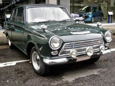 Ford Cortina Mk 1 - My father had a brand new one in red 30 ETH - My brother Mike wrote it off in the first month....