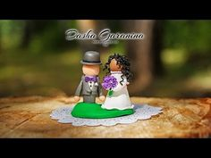 жених и невеста из полимерной глины - YouTube