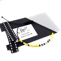 Cord Bracelet, Adjustable Multicolor Bracelet, Waxed Cord Bracelet , Macrame Knot Bracelet