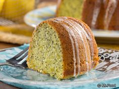 Lemon Poppy Seed Bundt Cake - This recipe is super easy because it starts with cake mix. It's got a great lemon flavor that is Spring-perfect!