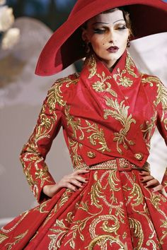 Christian DiorFall 2007 Haute Couture
