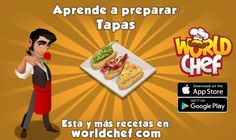World Chef, App Store Google Play, Omelette, Clean Recipes, Tapas, Breakfast, Food, Recipes, Kitchens