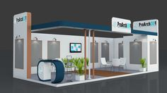 Exhibition stall 3d model | 9 mtr x 4 mtr | 2 Sides open Free Download: http://www.proarch3d.com/exhibition-stall-3d-model-9-mtr-x-4-mtr-2-sides-open/