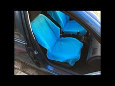 How to make a car seat cover (suitable for side airbags) - YouTube
