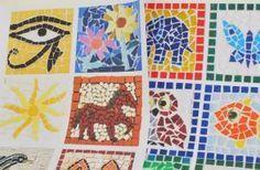 Cómo hacer mosaicos romanos para niños
