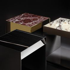 A sophisticated collection of jewel-like coffee tables, which team a pure, essential aesthetic with a surprisingly varied combination of materials. A range of coffee tables whose aesthetic nature is akin to that of a precious object and which have a precise function – to serve as a surface – but most importantly to lay a highly decorative role, revealing a well measured elegance that mimics the Milanese design from the 50s and 60s.