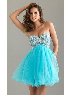turquoise blue dress with beading