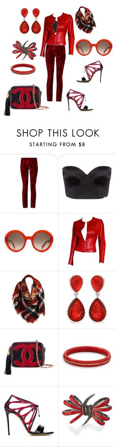 """Holiday shopping"" by lisaaucointarantino ❤ liked on Polyvore featuring Haider Ackermann, Ultimo, Alexander McQueen, Gucci, Sylvia Alexander, Erica Lyons, Chanel, BillyTheTree, Casadei and Stephen Webster"