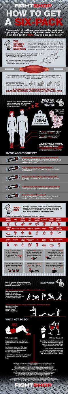 #INFOgraphic > Six Pack Abs 101: Packing your abs is not about magic and though it requires particular self-discipline it is attainable. The secret lies in the harmonic combination of both exercising for muscle growth and appropriate low fat diet for reducing body fat rate. This guide gives you the best tips for... > http://infographicsmania.com/six-pack-abs-101/