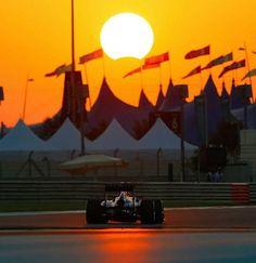 Solar eclipse in Abu-Dhabi race 2013