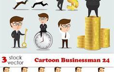 تحميل Cartoon Businessman 24