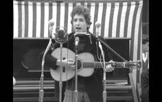 Bob Dylan- Mr. Tambourine Man (Live at the Newport Folk Festival. 1964) http://www.bobdylan.com/us/home