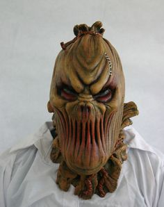Scarecrow Deluxe Latex Mask
