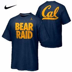 California Golden Bears Nike Campus Roar 'Bear Raid' Tee - Navy