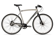 Spot: 11 speed internal hub gear and carbon belt drive; made in Colorado. Aluminum frame... size 55 please!