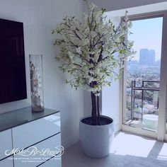 Make Be-leaves life-like artificial trees in decorative containers and optional custom base plantings custom made to order. Most faux tree varieties are available up to ft. Artificial Cherry Blossom Tree, Pink Cherry Blossom Tree, Artificial Tree, Blossom Trees, Tree Planters, Potted Trees, Flowering Trees, Outdoor Topiary, Outdoor Trees
