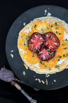 Heirloom Tomato Tart recipe