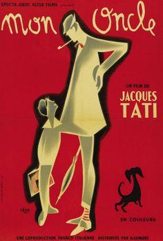"""""""Mon Oncle"""" 1958, Jaques Tati"""
