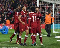 Mohamed Salah, Roberto Firmino and Sadio Mane scored as Liverpool beat Roma James Milner, Liverpool Team, Premier League Champions, Mohamed Salah, Bobby, Sports, Hs Sports, Sport