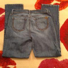 """NINE WEST JEANS Size 10 Nine West Jeans. Dark denim. 29"""" inseam. Great condition. Nine West Jeans Boyfriend"""