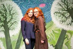 "Tori Amos & Rosalie Craig (the star of ""The Light Princess""), October 2013."