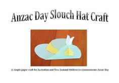 #This simple Anzac Day craft idea would be perfect for Australian or New Zealand children commemorating Anzac Day. It could be also used in a study ...    http://vacationtravelogue.com