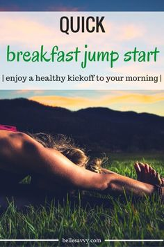 Quick breakfast jump start to give you a healthy, simple and delicous morning kickoff | low carb | gluten free | dairy free | BelleSavvy