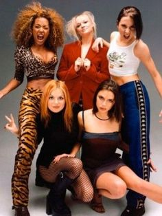 90s Fashion Trends We Wish We Could Forget - Spice Girls