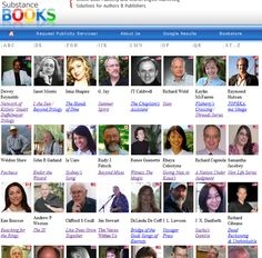 Meet the Authors of Substance: http://www.substancebooks.com/authors-directory.html