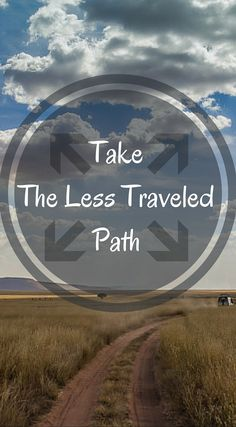 Take the less traveled path. I feel so many travelers do not do this. They stick to the basic traveled paths and also cover the everyday basic places. Don't be basic, travel the less traveled path! Read about our Adventure Travels and Discover the Divergent Path at http://www.divergenttravelers.com/ Divergent Travelers Adventure Travel Blog
