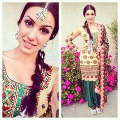 Salwar suit - Tris Dhaliwal