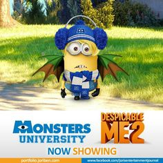 See minions in Monsters University! Minions Cartoon, Evil Minions, Minions Love, Minions Despicable Me, My Minion, My Little Lover, Funny Greek, Movie Sites, Monster University