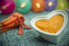 Papinha de cenoura