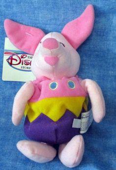 """DISNEY Mini Bean Bag EASTER EGG PIGLET, 8""""  B2 #Disney"""