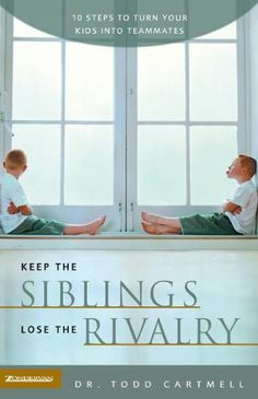 ► Keep the Siblings, Lose the Rivalry by Todd Cartmell. If your children are constantly fighting and/or bickering then this is a great book for helping you gain control of the rivalry.  Learn how to be proactive and improve your parenting so that you can improve the relationships between your children. Check it out: http://gmsoap.co/Wht8F4 #parenting #siblingrivalry #siblings