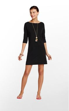 Amazing Lilly LBD~ little black dress!  perfect and easy to wear anywhere~ Casual chic at its best!