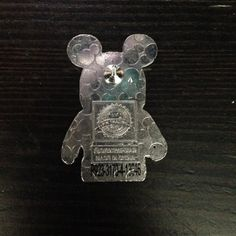 Disney pin trading tips: Look for a Serial Number on the back of the pin.