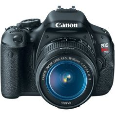 Canon EOS Rebel T3i 18 MP CMOS Digital SLR Camera and DIGIC 4 Imaging with EF-S 18-55mm f/3.5-5.6 IS Lens Camera & Photo