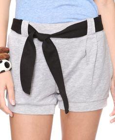 Belted Blouson Shorts  $13.80