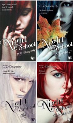 Night School Tomes 1 à 4 CJ Daugherty