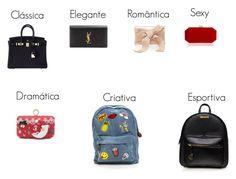 """Bolsas"" by natalia-miranda-i on Polyvore featuring moda, Hermès, Yves Saint Laurent e Oscar de la Renta"