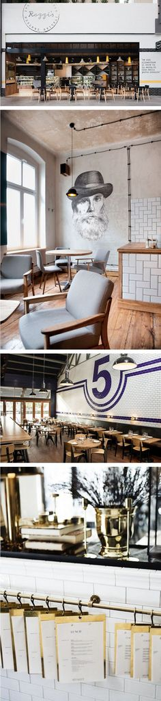 subway tiles & chairs — The Marion House Book