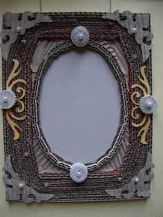 gorgeous cardboard frame