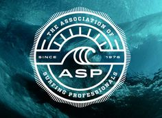 Noted: New Logo for Association of Surfing Professionals